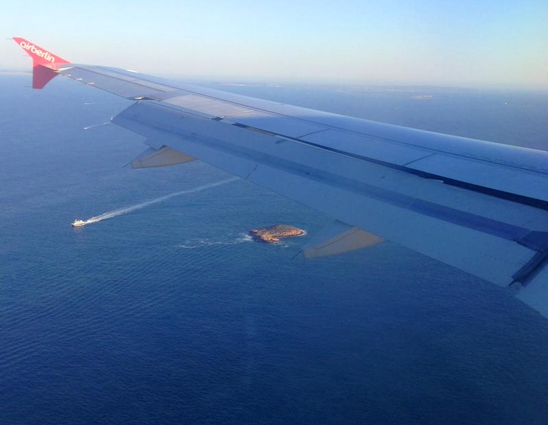 Hinflug nach Ibiza