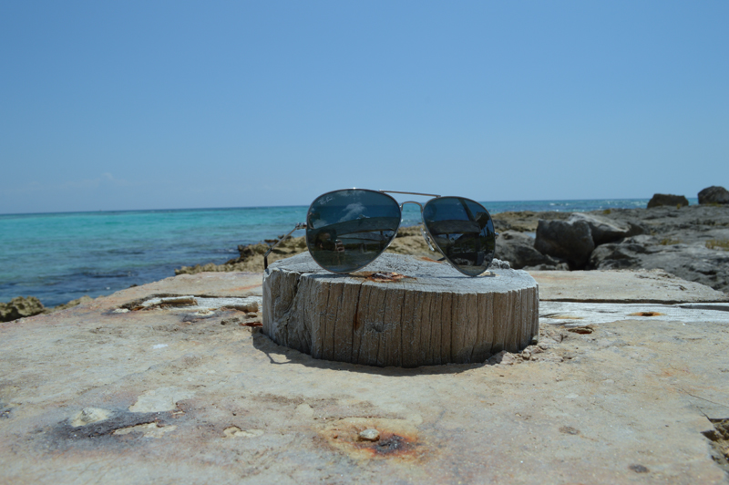 RayBan and Beach