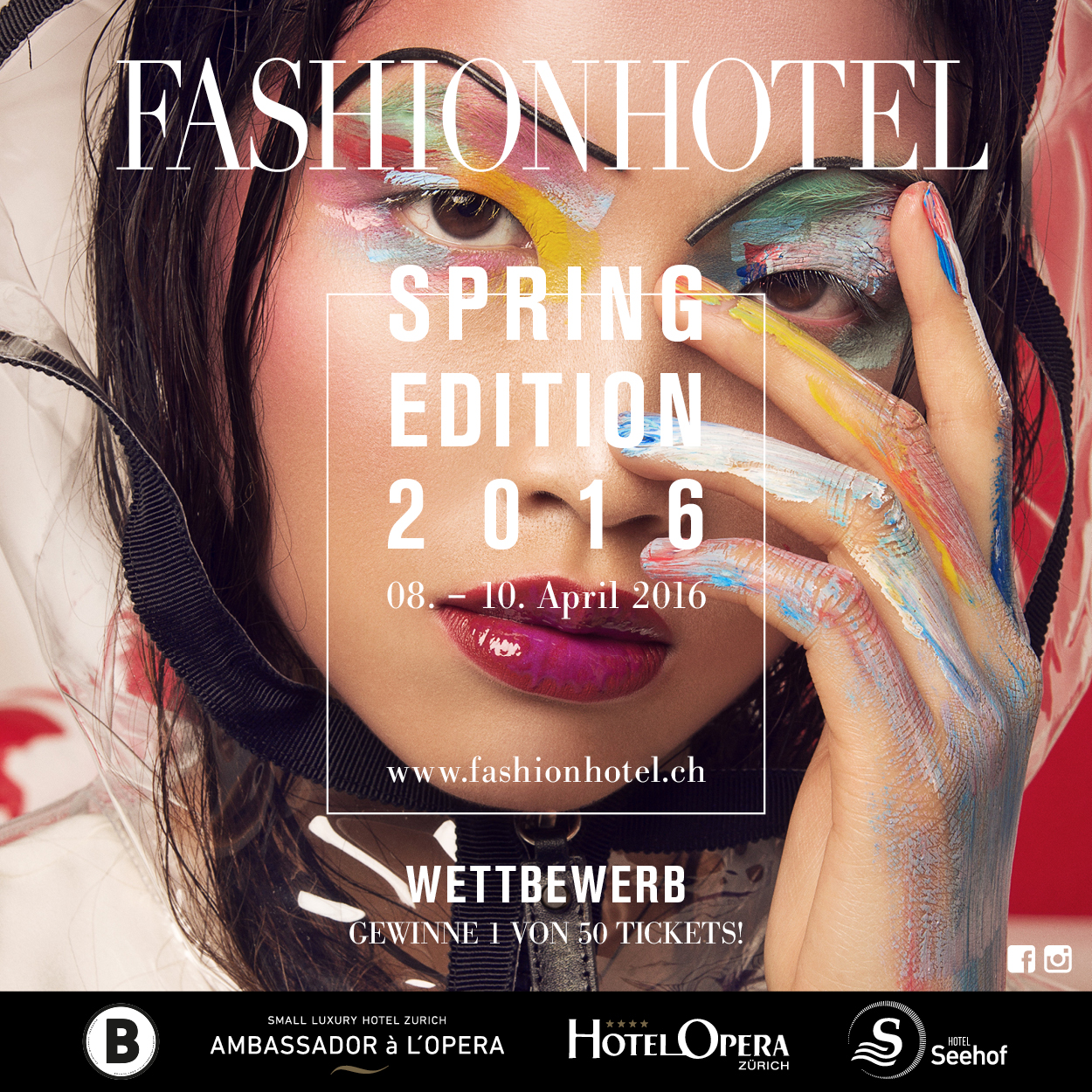 FASHIONHOTEL 08. APRIL 2016 IN ZÜRICH