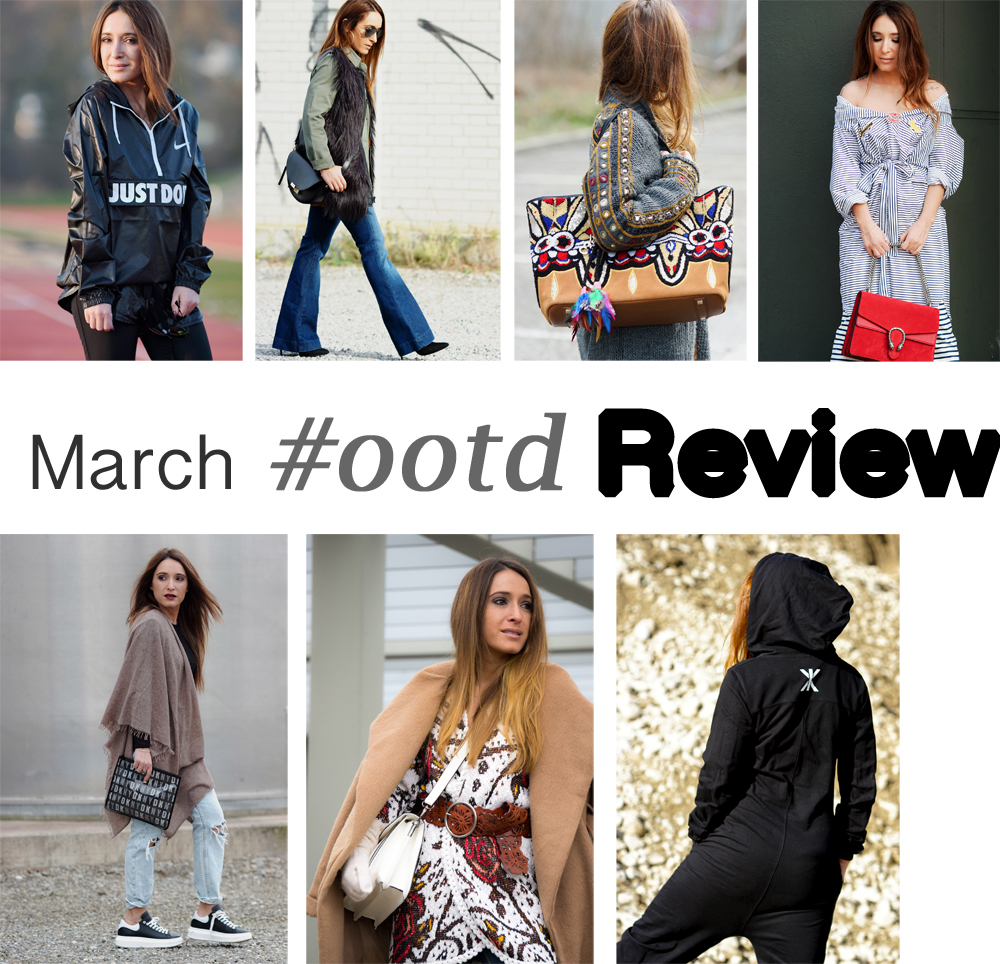 MARCH 2016 OUTFIT REVIEW