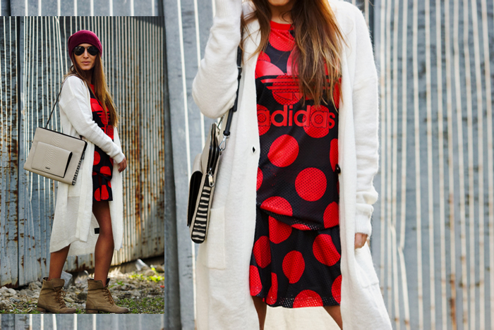 Freundschaften, Adidas Look mit Boots 02
