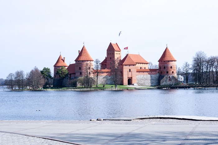 Vilnius Litauen mit Germania 16