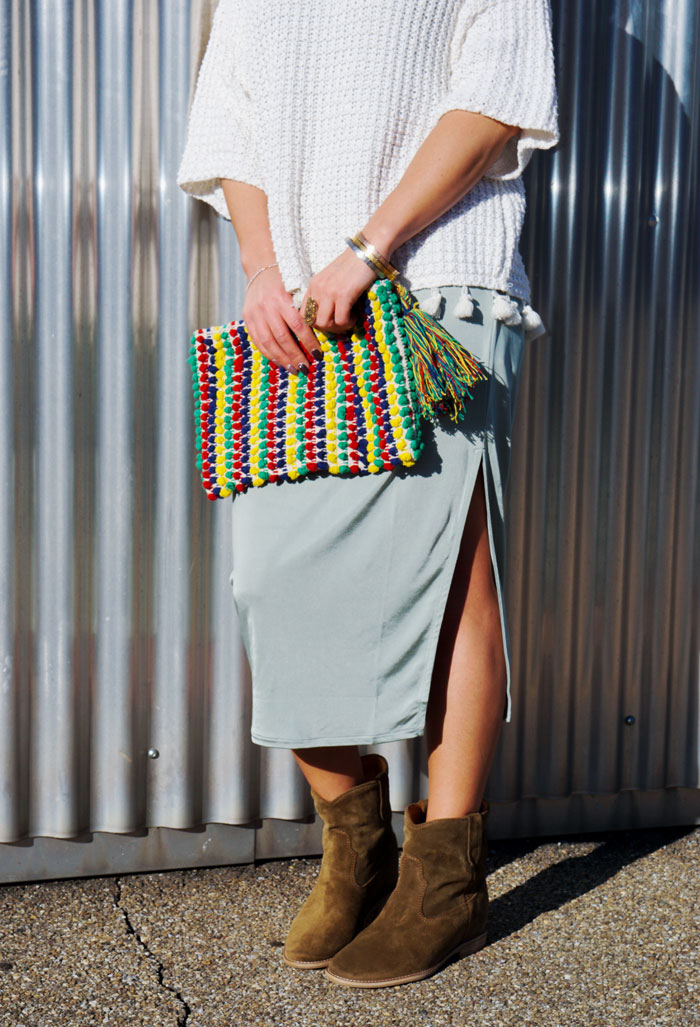 Zara Clutch - Ethno Style
