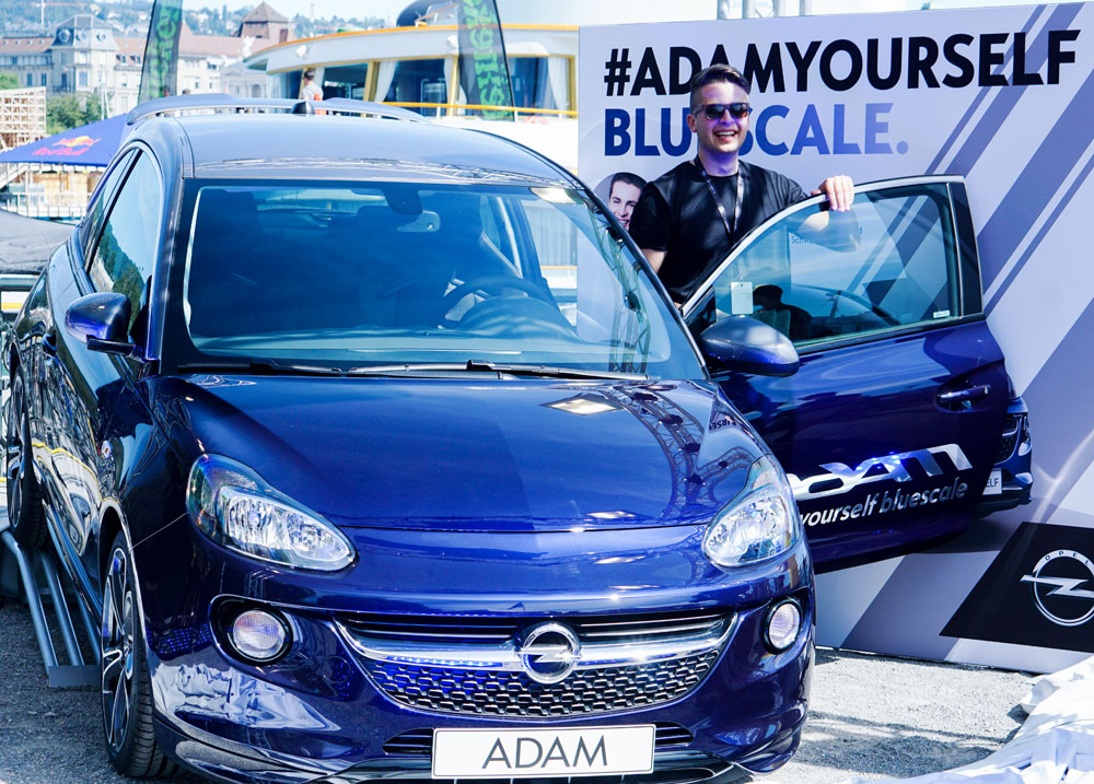 STREET PARADE 2016 ZURICH WITH OPEL #ADAMYOURSELF BLUESCALE 07