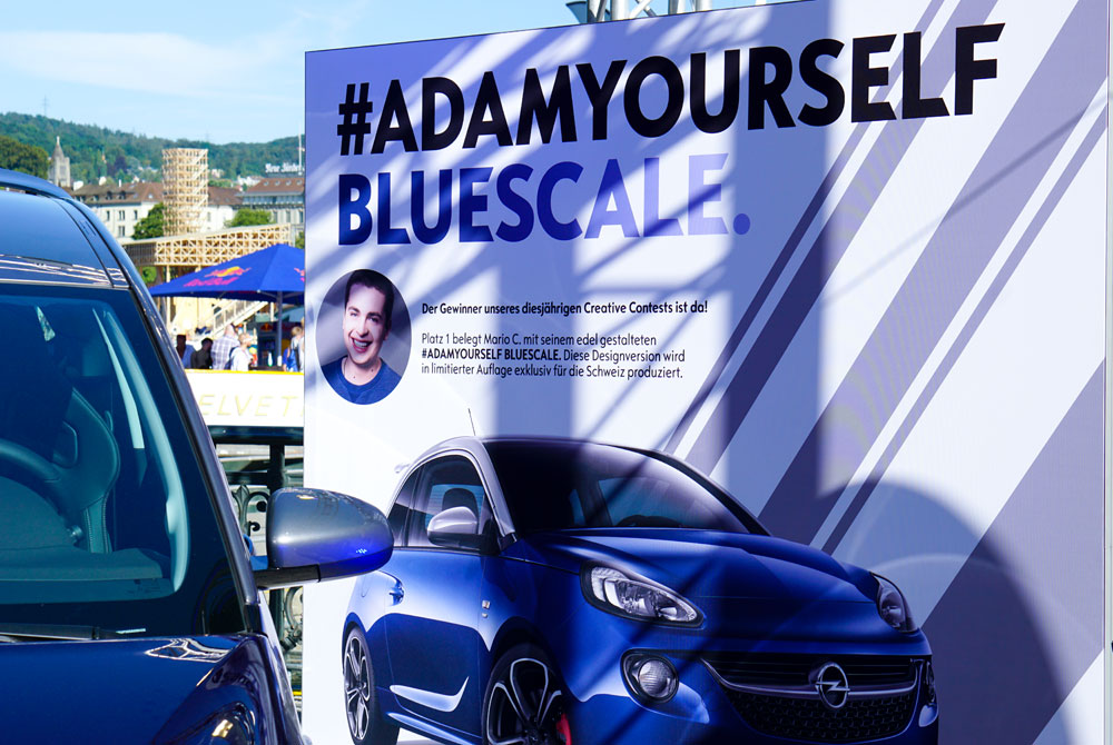 STREET PARADE 2016 ZURICH WITH OPEL #ADAMYOURSELF BLUESCALE 24