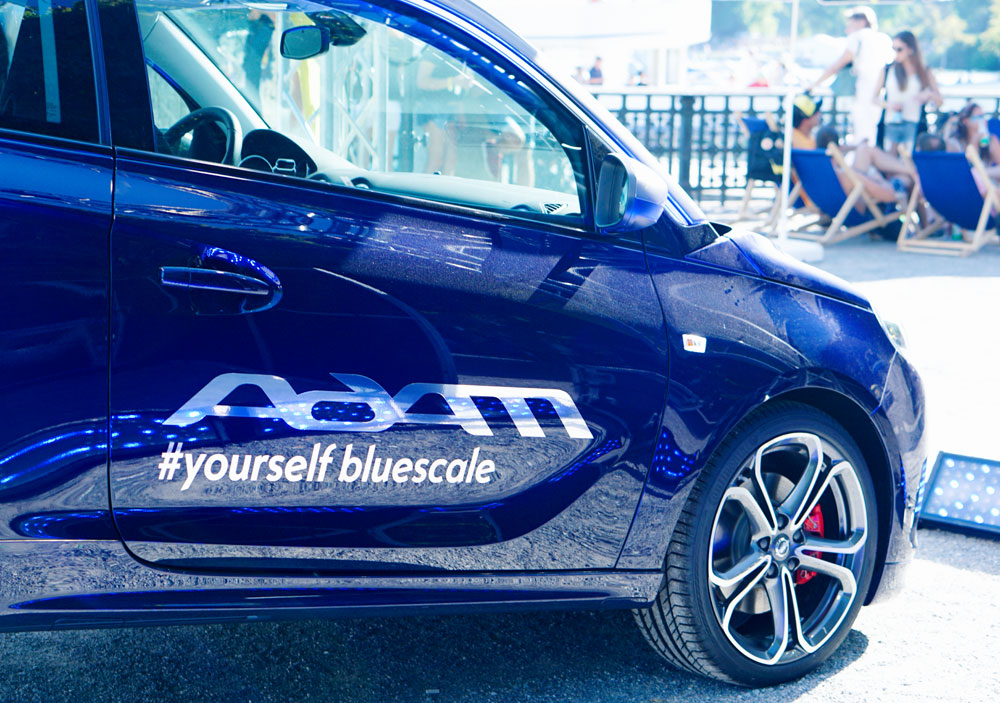 STREET PARADE 2016 ZURICH WITH OPEL #ADAMYOURSELF BLUESCALE 26