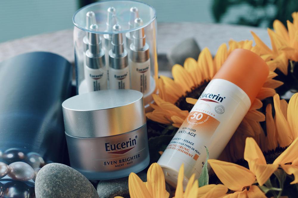 Pigmentflecken vorbeugen mit Eucerin 01