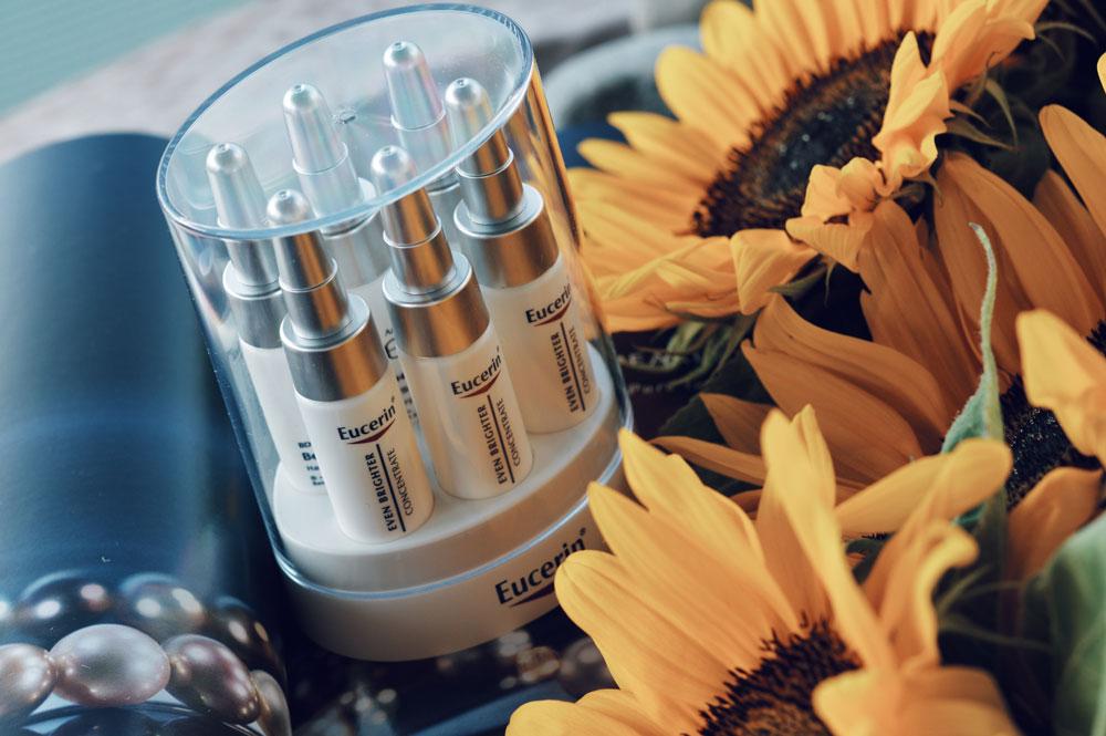 Pigmentflecken vorbeugen mit Eucerin 02