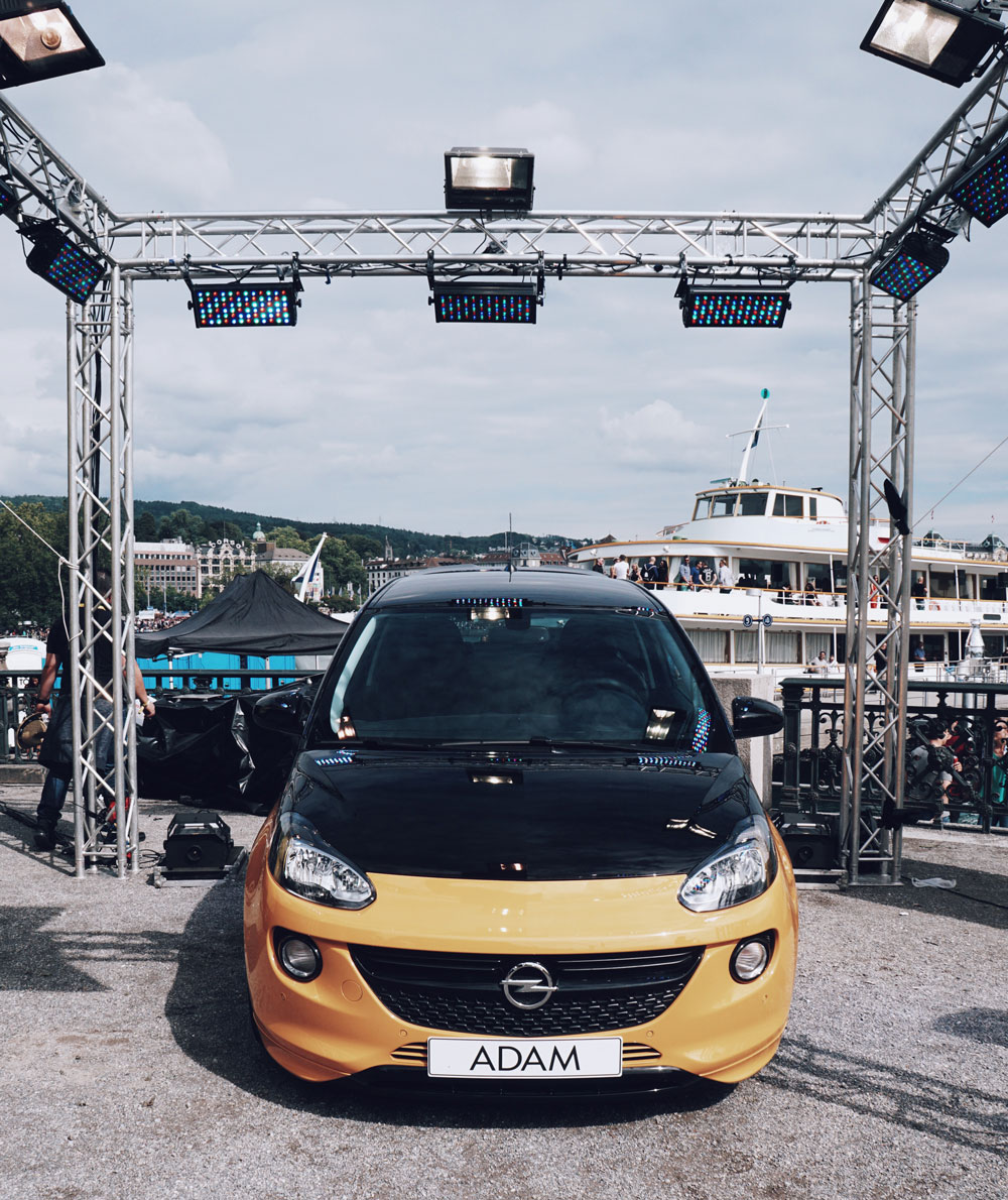 STREET PARADE 2017 WITH OPEL ADAM BLACK JACK 08