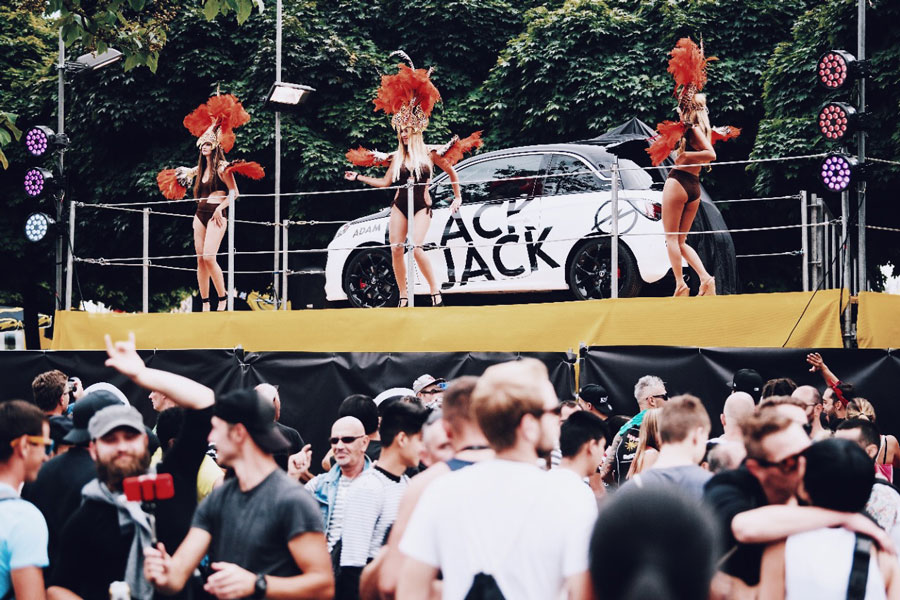 STREET PARADE 2017 WITH OPEL ADAM BLACK JACK 20