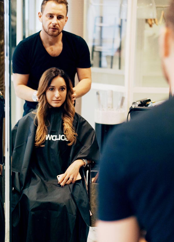 Behandlung für schönes Haar