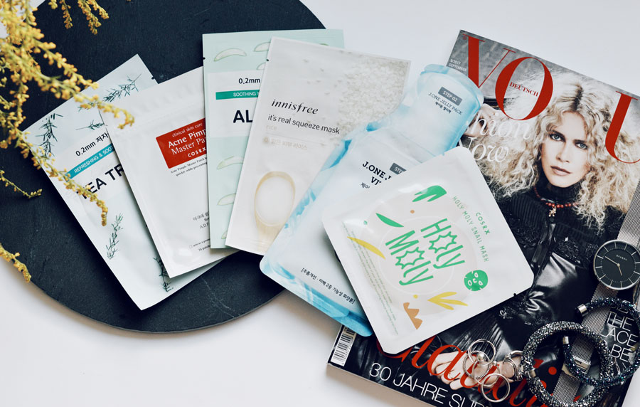 Sheet Masks aus Korea - Beauty Blog Nissi Mendes