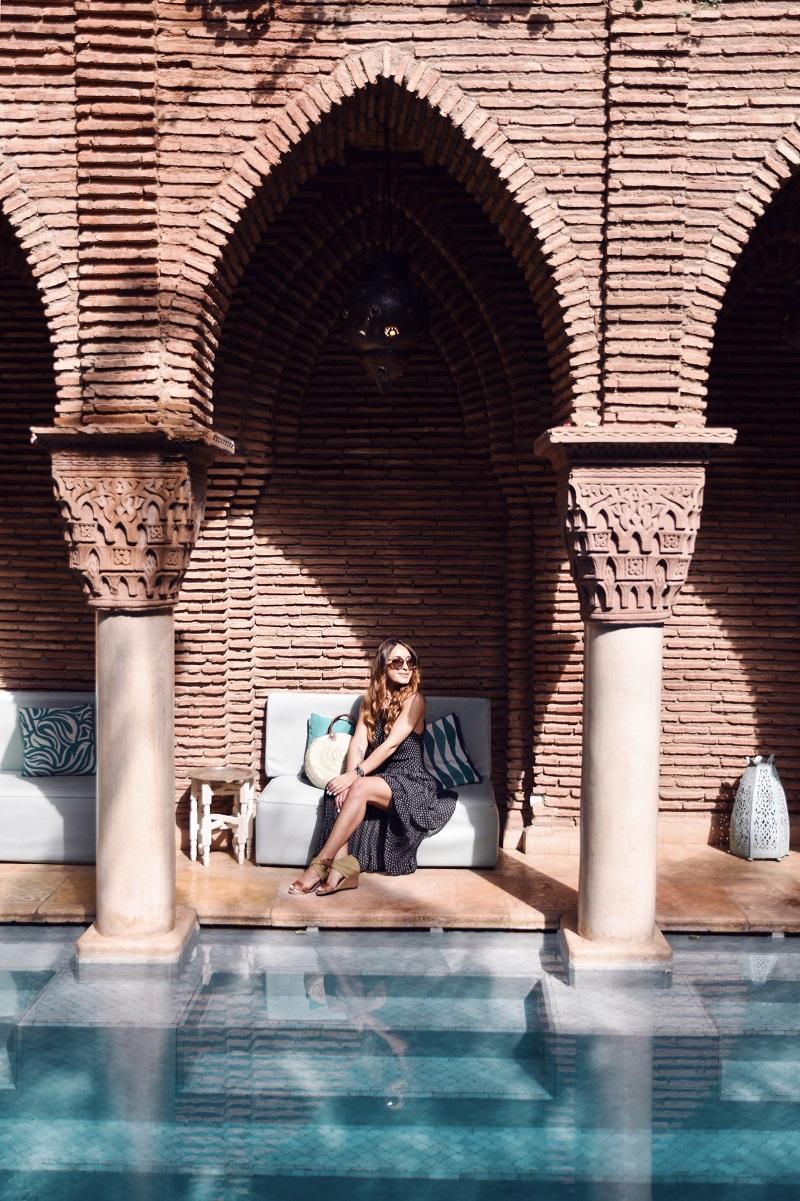 Bloggerin Nissi Mendes, Marrakesch Marroko